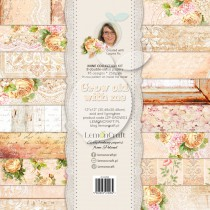 Zestaw papierów do scrapbookingu - Grow old with me