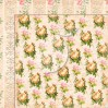 Set of scrapbooking papers - Grow old with me