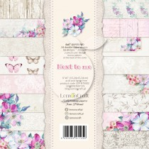 Pad of scrapbooking papers - Next to me 6x6