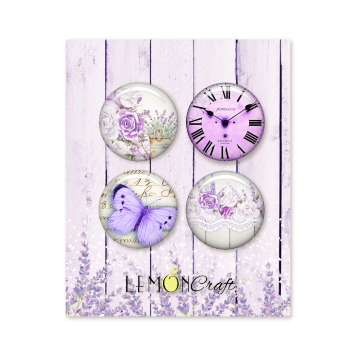 LD-MSP01 - Buttons / badge - Lemoncraft - My sweet Provence