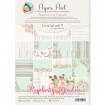 Raspberry Garden - Album edition - Pad scrapbooking papers 21x29cm - Lemoncraft