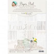 Wood Patterns 01 - Bloczek papierów do scrapbookingu 21x29cm - Lemoncraft