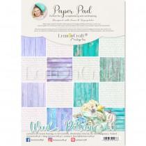 Wood Patterns 03 - Pad scrapbooking papers 21x29cm - Lemoncraft
