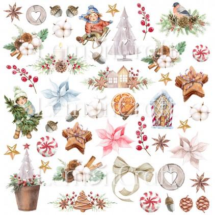 This Christmas 07 - Arkusz z obrazkami do wycinania - Lemoncraft