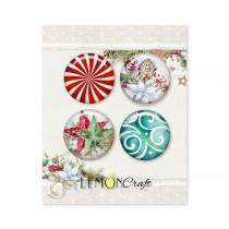 This Christmas - Buttons / badge - Lemoncraft