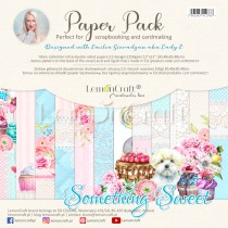 Something Sweet - Set of scrapbooking papers 30x30cm - Lemoncraft