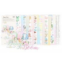 Baby Boom Elements for fussy cutting - Pad scrapbooking papers 15,24x30,5cm - Lemoncraft