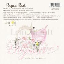 Elegance - Pad scrapbooking papers 15x15cm - Lemoncraft