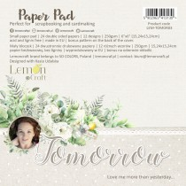 Tomorrow - Pad scrapbooking papers 15x15cm - Lemoncraft
