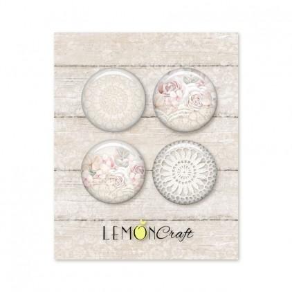 Linen Story - Buttons / badge - Lemoncraft